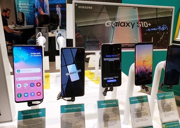 Samsung-Modell Datenrettung
